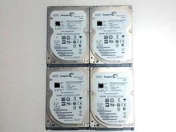 ★ハードディスク シーゲート ST320LT007 320GB SATA 4個セット