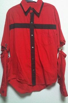 即決十字架変形シャツ!ゴスパンクナイトメアリスナインシドメリームック