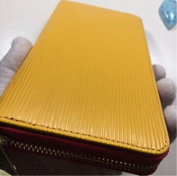 新品未使用 限定商品 黄色 ドイツタンナーの本革 牛革 長財布