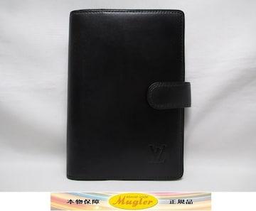 美品 ルイヴィトン ノマド アジェンダ PM システム手帳カバー 黒