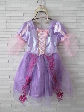 claire's ティアラ付 仮装 プリンセス ドレスワンピース 紫 100