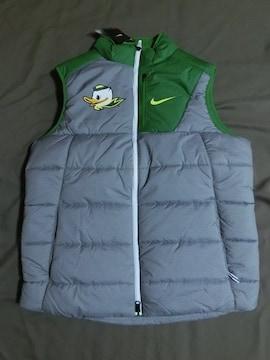 激レア Nike製 オレゴン大学ダックス 中綿ベストUS Sサイズ
