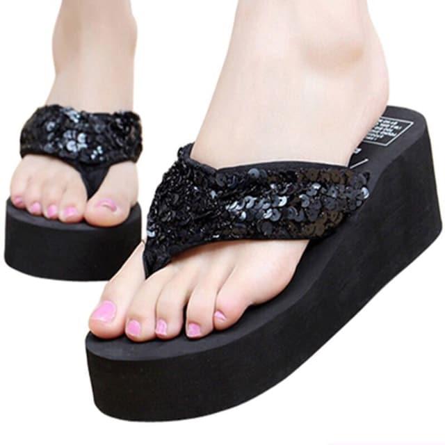 Y419即決 新品 サンダル 黒 24 エスペランサ ダイアナ GU ユニクロ 好きに  < 女性ファッションの