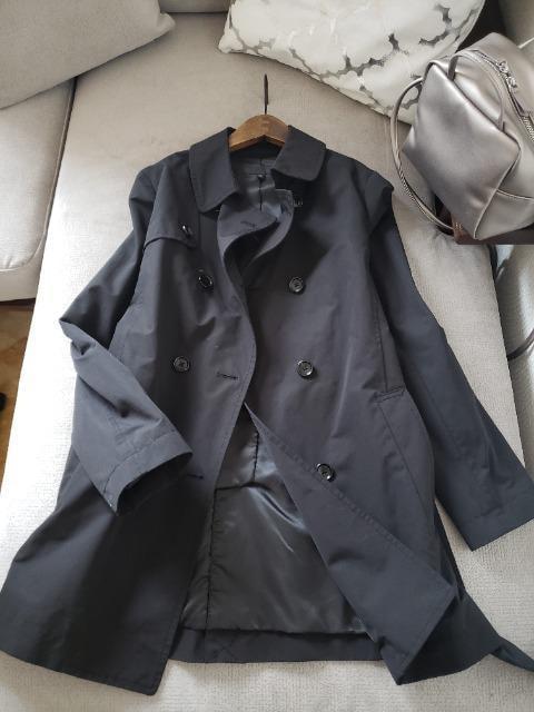 UNIQLO★春に活躍!ブラックスプリングコート