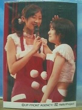 Berryz工房フェス ライブL判1枚 2008.2.8/熊井友理奈・嗣永桃子