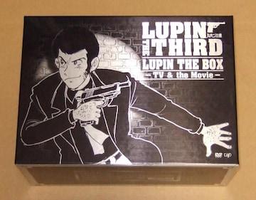ルパン三世 LUPIN THE BOX TV & Movie DVD