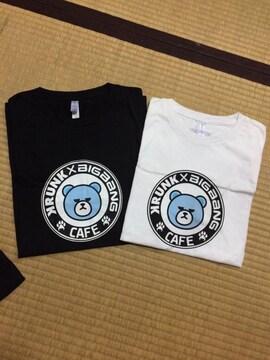 送料込☆KRUNK×BIGBANG☆CAFE Tシャツ☆白黒2枚セットMサイズ