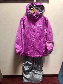 58 エレッセ スノーウエアー ピンク色Sサイズ 超美品♪