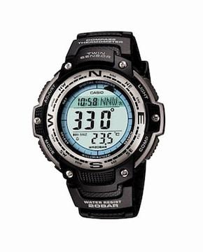 CASIO腕時計 SGW-100J-1JF 防水・方位・温度計測機能付