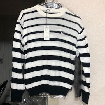 ボントンボーダーセーター