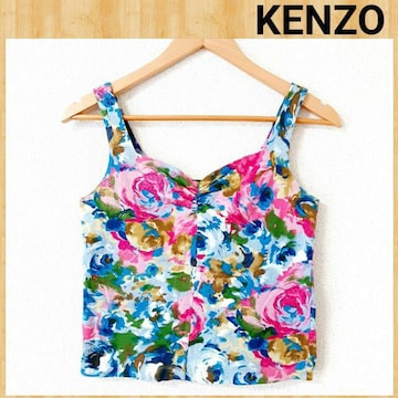 composition by KENZO ケンゾー レア ビスチェ 38 花柄 美品