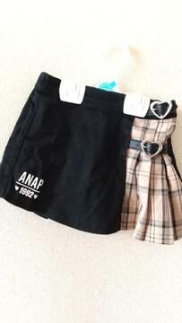 キッズサイズM☆ANAP☆ジャンパースカート
