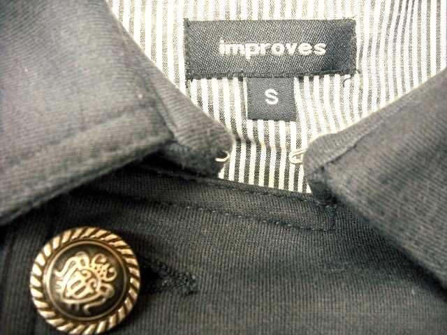 【improves】グレーのピーコートです < 女性ファッションの