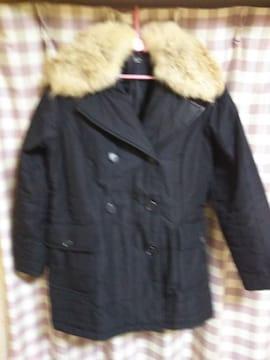 ★dejavu zu'lu  ダウンタイプ ロングコート サイズM ブラック 同梱不可