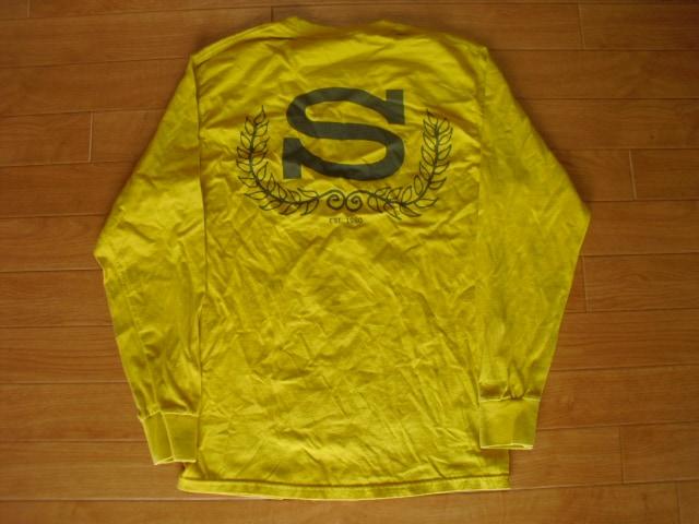 STUSSY ステューシー ロング Tシャツ USA-S  < ブランドの
