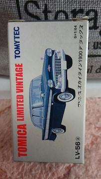 トミカリミテッドヴィンテージ 日産プリンス スカイライン 1900 デラックス 未開封 限定品