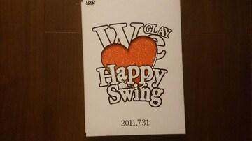 GLAY「We Love Happy Swing/7.31」FC限定DVD/エヴァンゲリヲン