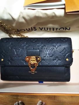 新品ルイヴィトンSHOP購入チェーンウォレットポシェット財布