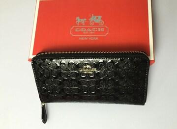 COACH コーチ F54805 長財布 レディースサイフアウトレット品