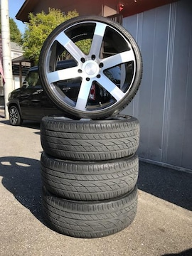 200系ハイエース限定デイトナ20インチアルミタイヤセット!