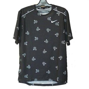 大きいサイズ★新品XL★NIKEナイキ黒ワイルドランSTシャツ