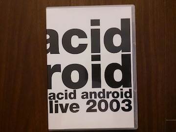 acid android「live 2003」DVD/L'Arc-en-Ciel