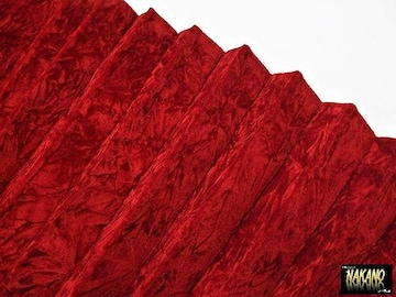 仮眠カーテン チンチラ レッド 赤遮光 最高級 金華山 ベロア生地