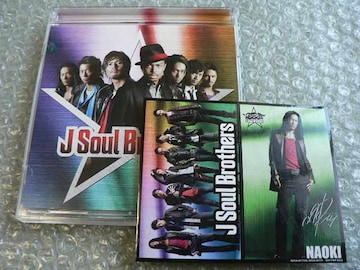二代目 J Soul Brothers/アルバム【CD+DVD】ステッカー付/初回盤