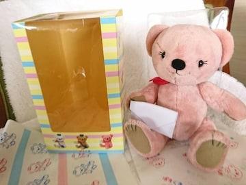 日本郵便/ぽすくま/じゃむ/ピンク/ぽすじゃむ/ぬいぐるみ/L/限定品
