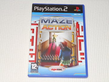 PS2★MAZE ACTION 海外版