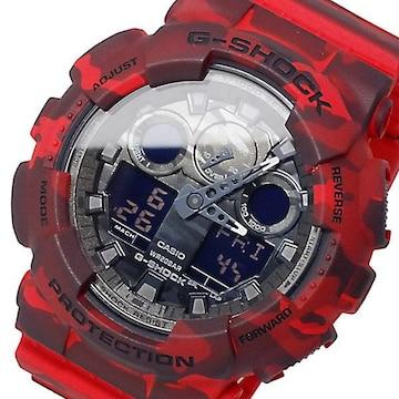 新品 即買い■カシオ Gショック アナデジ 腕時計 GA-100CM-4A