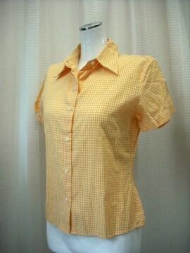 【ベネトン】【未使用品】イタリア製チェックのシャツです