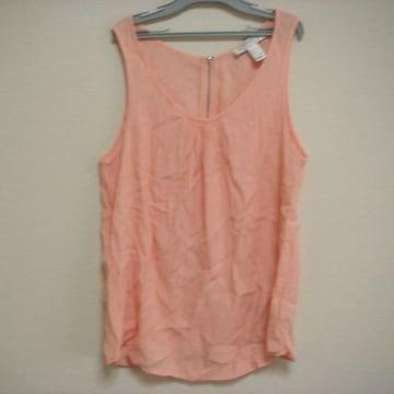 フォーエバー21 袖なし トップス S 薄ピンク