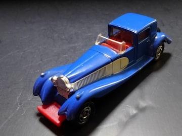 希少1978年製黒箱トミカクラシックカーブガッティークーペデビル