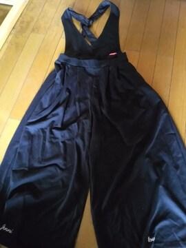 3着以上半額!JL-ワイドパンツ160ブラック