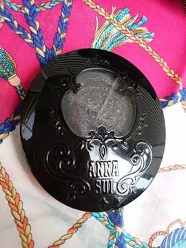 アナスイ アイカラーアクセント006 ANNA SUI アイシャドウ ブラック&オーロララメ
