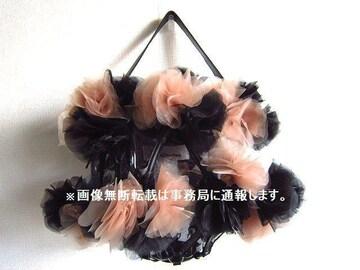 美品 2019AW noir kei ninomiya 3D フラワー バッグ