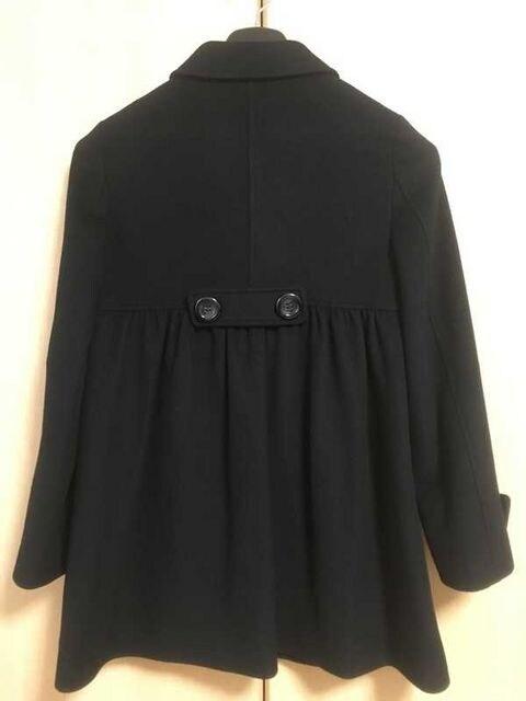 □良品《NAVE/ネイヴ》コート 黒 サイズ2□ < 女性ファッションの