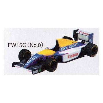 アオシマ 1/64 F1GP ウィリアムズミニカー Canon Williams FW15C 1993 #0