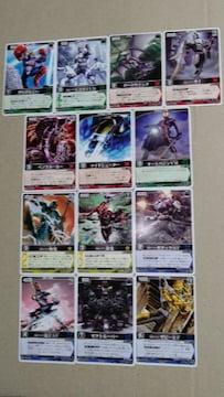 仮面ライダーカード レンジャーズストライク13種�A