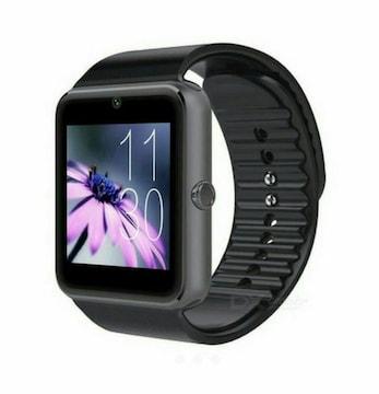 黒黒 スマートウォッチ Bluetooth