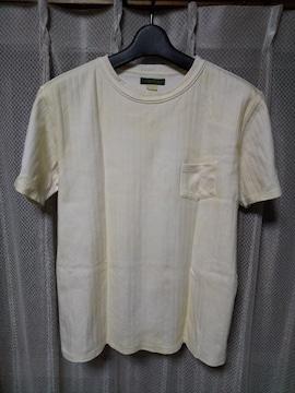 OLD JOE オールドジョー ユーズド加工 半袖Tシャツ 36 Sサイズ 生成り 白 RRL