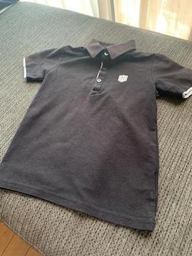 BeBeポロシャツ130センチブラック