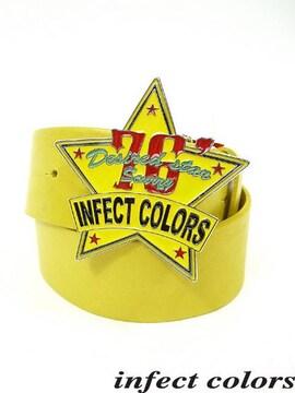 infectcolors(インフェクトカラーズ)スターバックルベルト/F