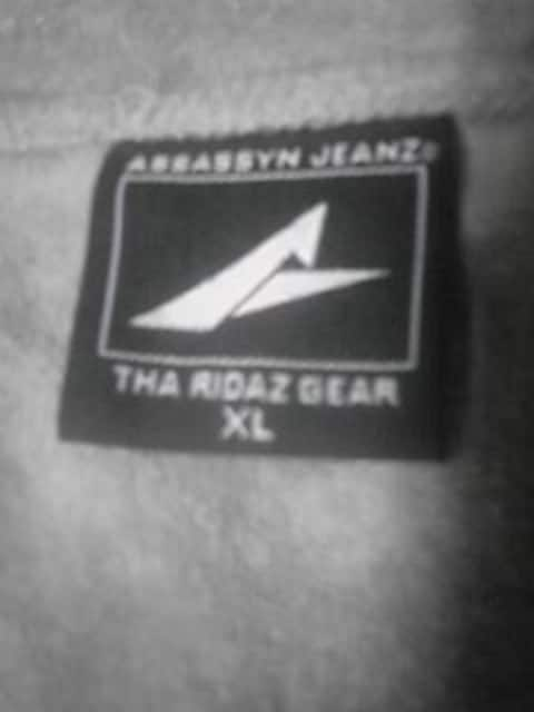 B-BOY.ローライダー 美品 ASSASSYN JEANS 半袖ジャケット XL < ブランドの
