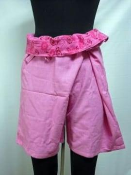 ホットパンツ フィッシャーマンパンツ ローズピンク 品番a5