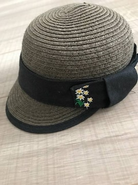 BREEZE女の子帽子50�pカーキ
