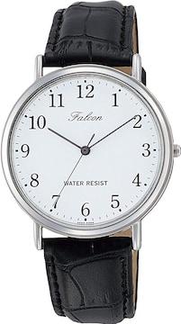 CITIZEN Q&Q 腕時計 Falcon ファルコン アナログ 革ベルト