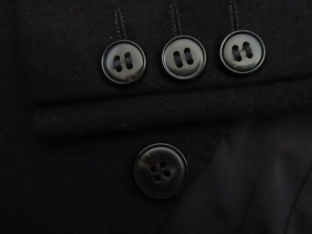 有名超美品&国産★PIERRE BALMAIN PARIS★カシミア混/黒/BE5 < 男性ファッションの