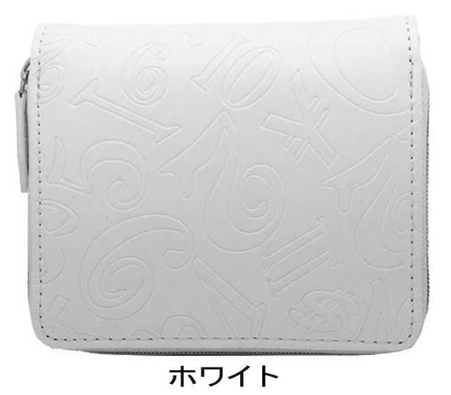 フランク三浦 二つ折り財布 FMS07-W ホワイト < 男性ファッションの
